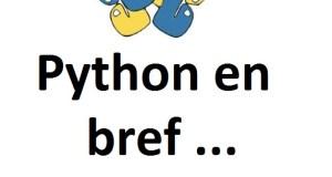 Python en bref