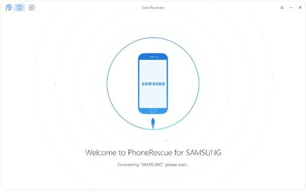 Android - récupérer photos et messages supprimés - étape 1