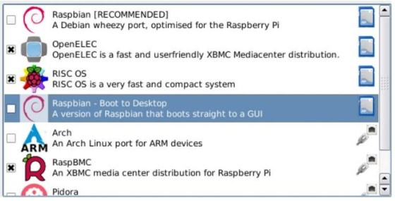 Démarrer Raspberry PI