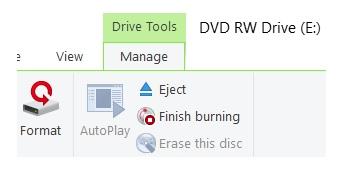 Graver CD DVD Windows 10 - 2