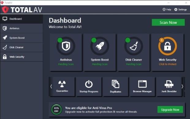 Total AV - Antivirus gratuit