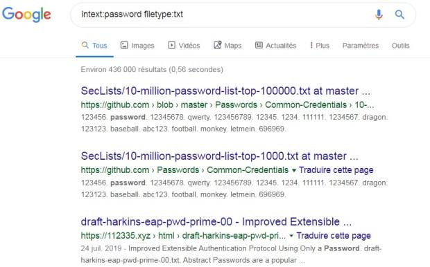 google-dorks-filetype