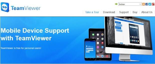 TeamViewer - contrôler à distance une appareil Android