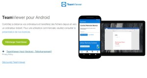 Team viewer pour Android