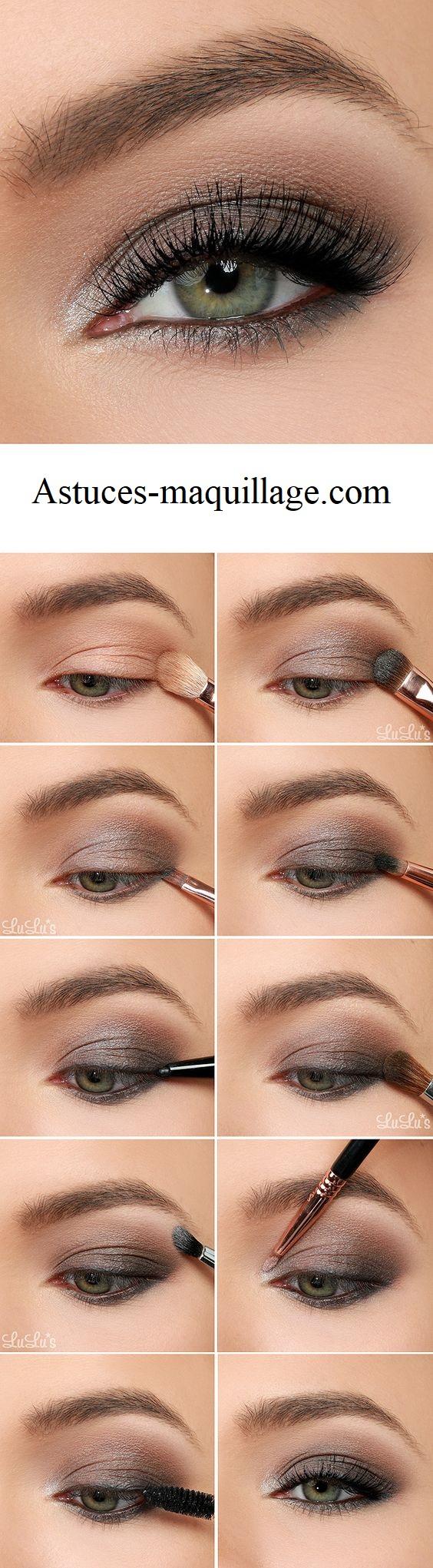 Maquillage Gris Great Et Voila Pour Ce Premier Maquillage