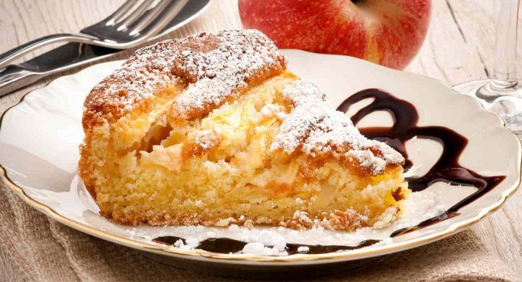 La tarte aux pommes et au yaourt sans four