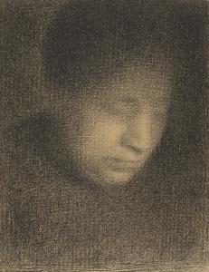 Oeuvre de Georges Seurat au fusain