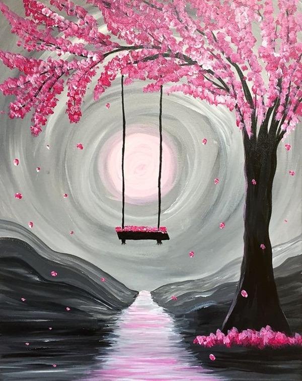 100 Tutos Idees De Peinture Acrylique Pour Debutants