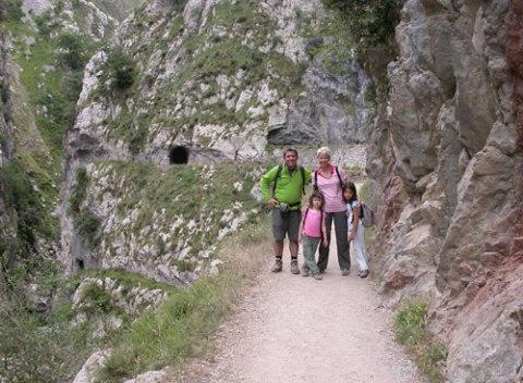 La ruta del Cares con Niños