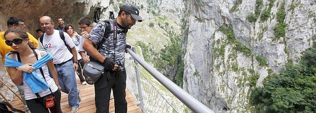 turismo activo Seguridad en la ruta del Cares