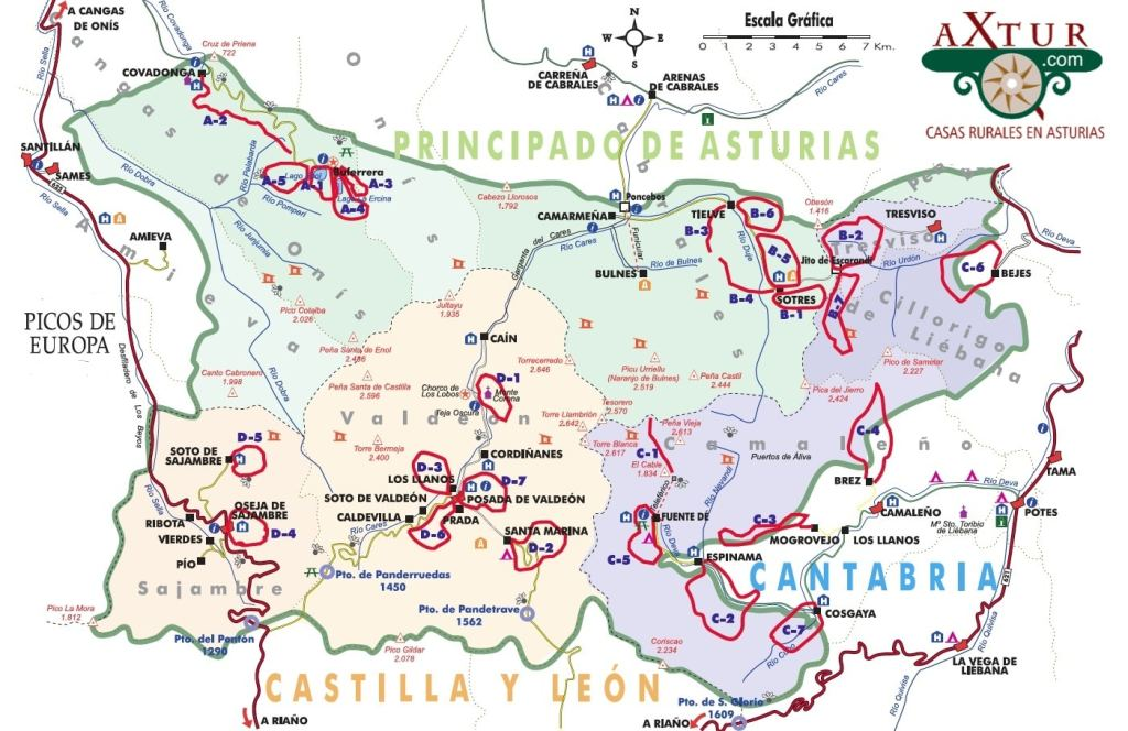 Rutas gratis del Parque Picos de Europa