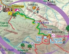 Si hay nieve en los Picos de Europa,podemos acercarnos a los Lagos de Covadonga