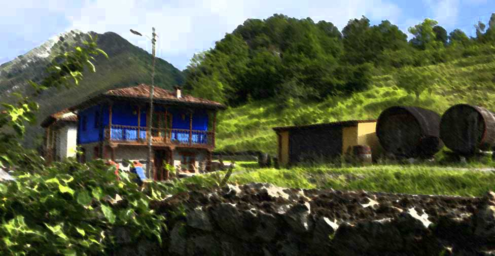 Casa rural Aguas del Sella, en Asturias