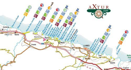 Playas de Asturias. Ribadesella-Llanes