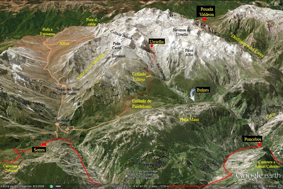 2 días en los Picos de Europa de ruta