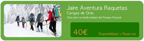 Canoas Jaire reserva de Actividades y Canoas en los Picos de Europa