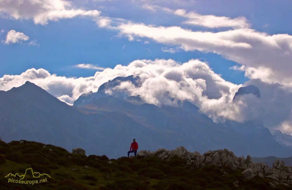 Picos de Europa desde Colladau Posadoriu.Tordín