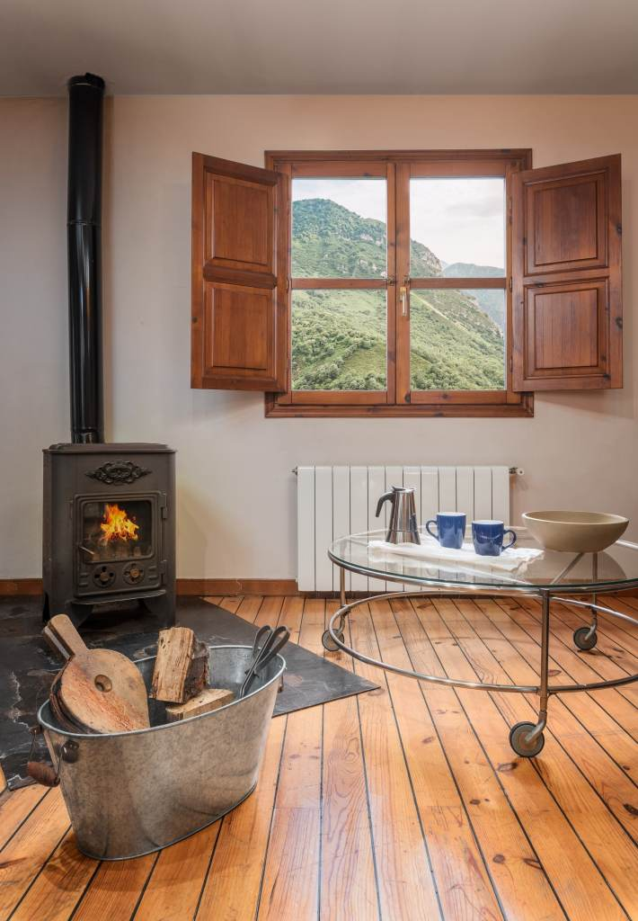Alojamientos con chimenea en los Picos de Europa