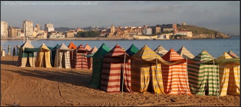 casetas playa gijon