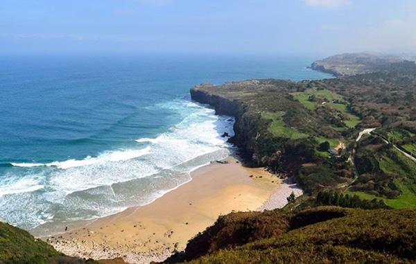 playas asturias playa de andrin