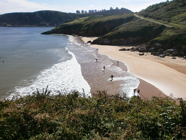 playa de xivares