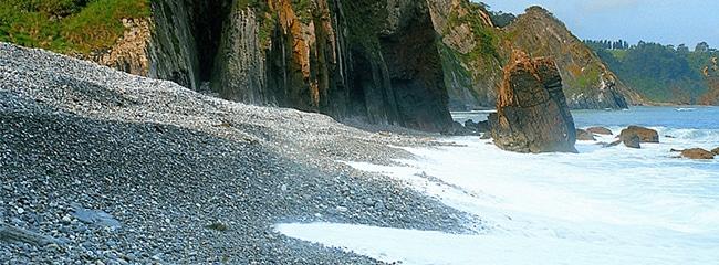 playa de riocabo en cudillero