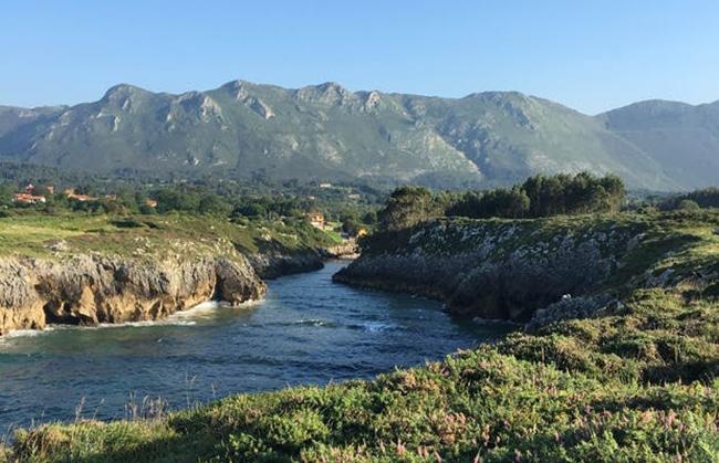 ruta costa de llanes area recreativa de guadania