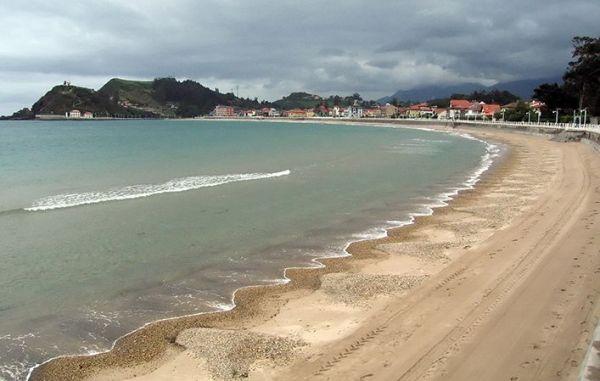 playa de santa marina en ribadesella