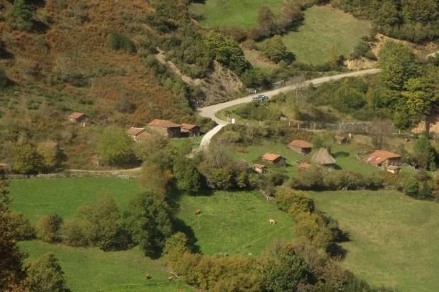 la ruta por las vaqueiras los caminos