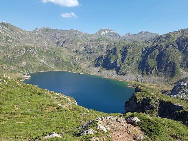 ruta por los lagos de saliencia parque natural