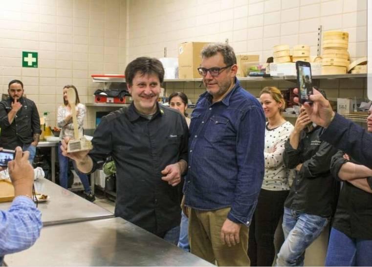 Premio Cucharon de Madera Restaurante Blanco