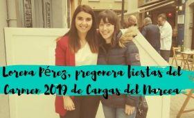 Lorena Perez pregonera fiestas Cangas 2019