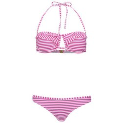 Boutique Women's Stripe Bandeau Bikini $25