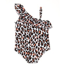 Neiman Marcus Milly Minis Animal Print One Shoulder $82