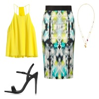 yellow-top-print-skirt-67295