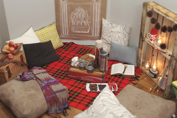 Wintry Indoor Picnic A Subtle Revelry