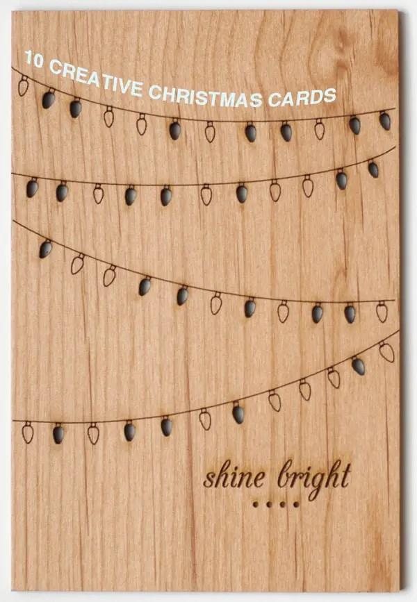10 Creative Christmas Cards A Subtle Revelry