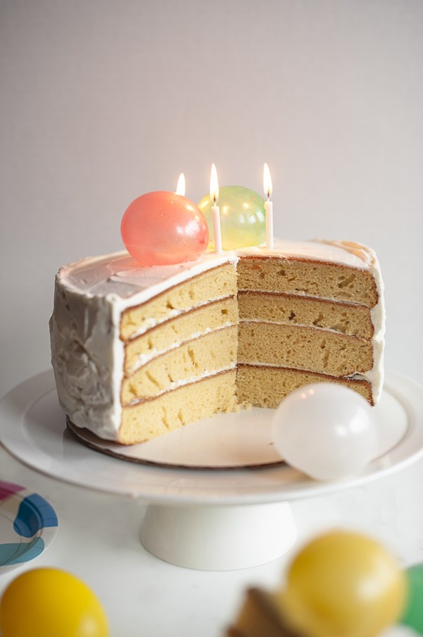 Edible Balloon Birthday Cake A Subtle Revelry