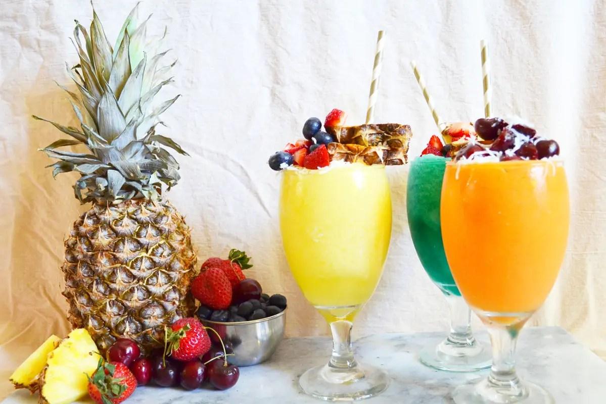 Tropical Slushie Bar A Subtle Revelry