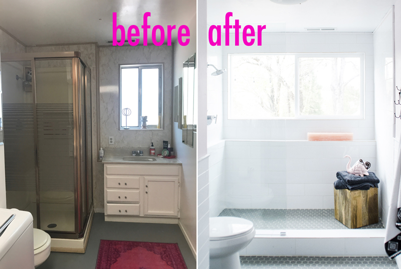 Our Basement Bathroom Renovation With Before & After
