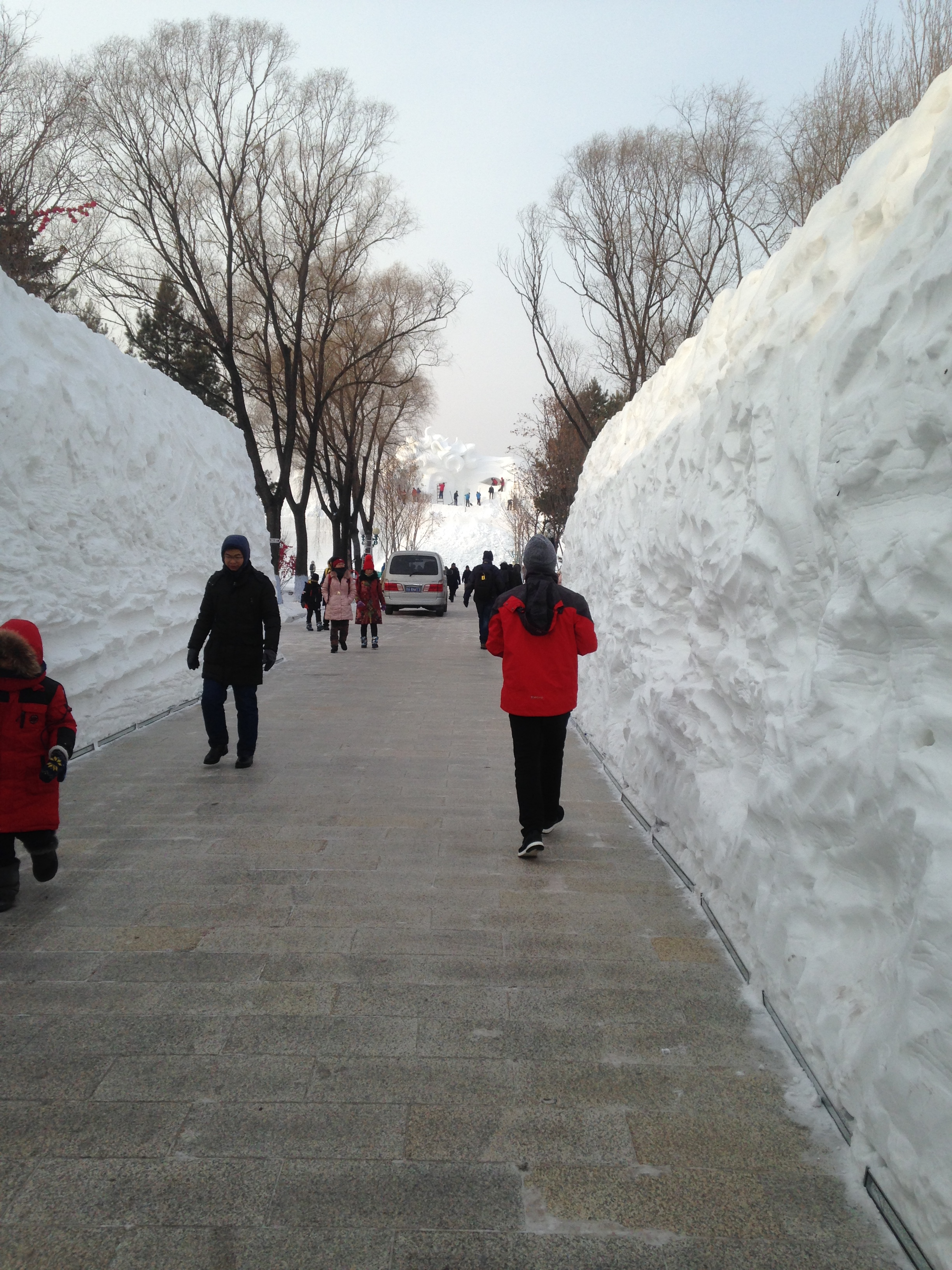 Harbin Snow Sclupture Entrance