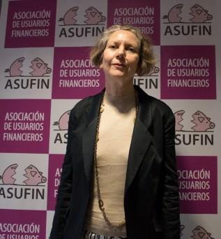 Sigrún Davidsdottir periodista islandesa y ponente