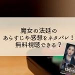 魔女の法廷(韓国ドラマ)のあらすじや感想をネタバレ!すぐに無料視聴するには?
