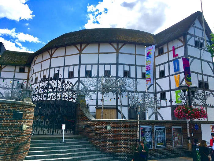 Literary Destination: Shakespeare's Globe Theater