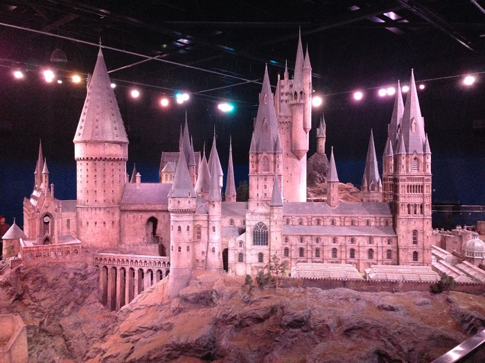 Hogwarts Castle Model, Warner Bros. Studio Tour, London