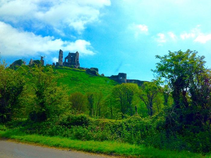 Corfe Castle View
