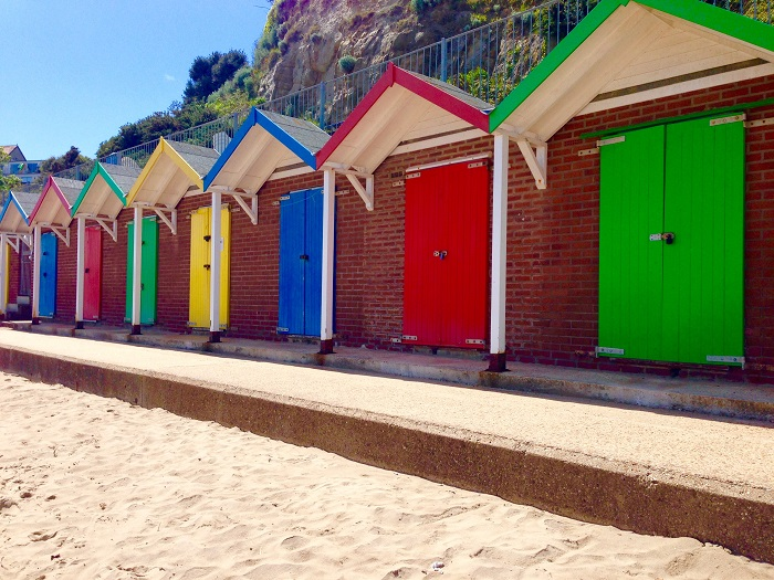 Swanage Beach Sheds
