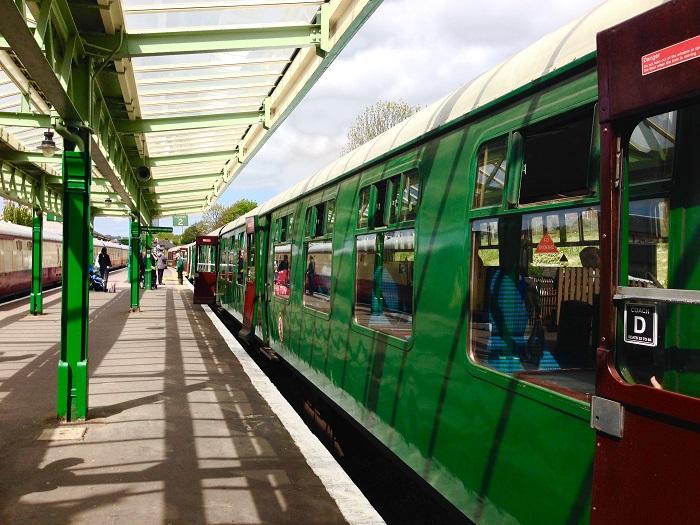 Swanage Railway Platform