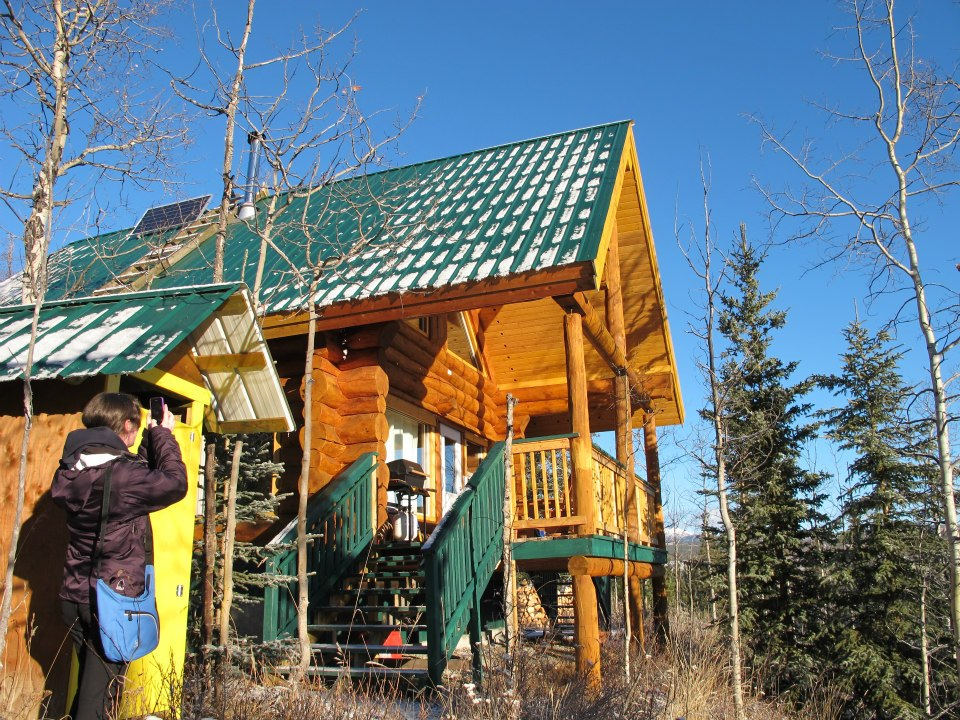 Winter Getaway at A Canadian Cabin and Sled Dog Ranch