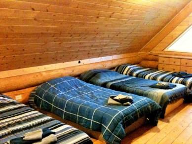 Shilo's Chalet loft beds